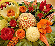 vegetable carving services in chennai