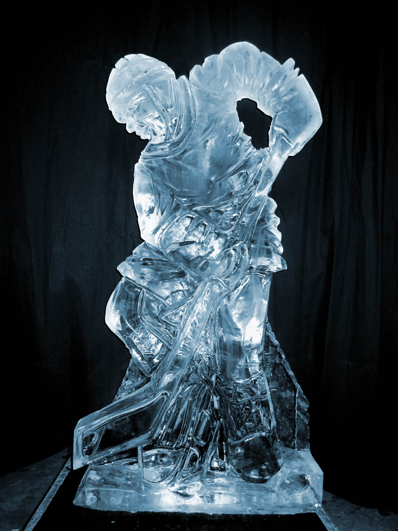 ice carving service