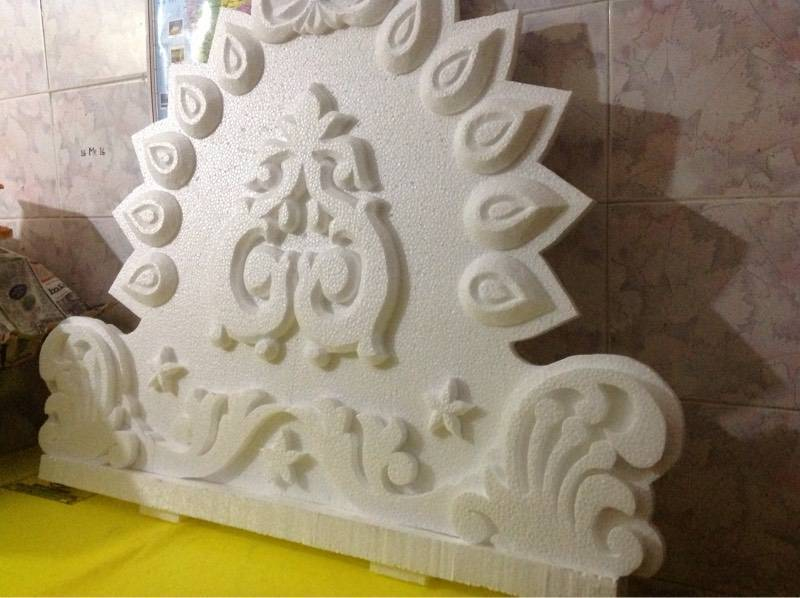 thermocol carving service near me